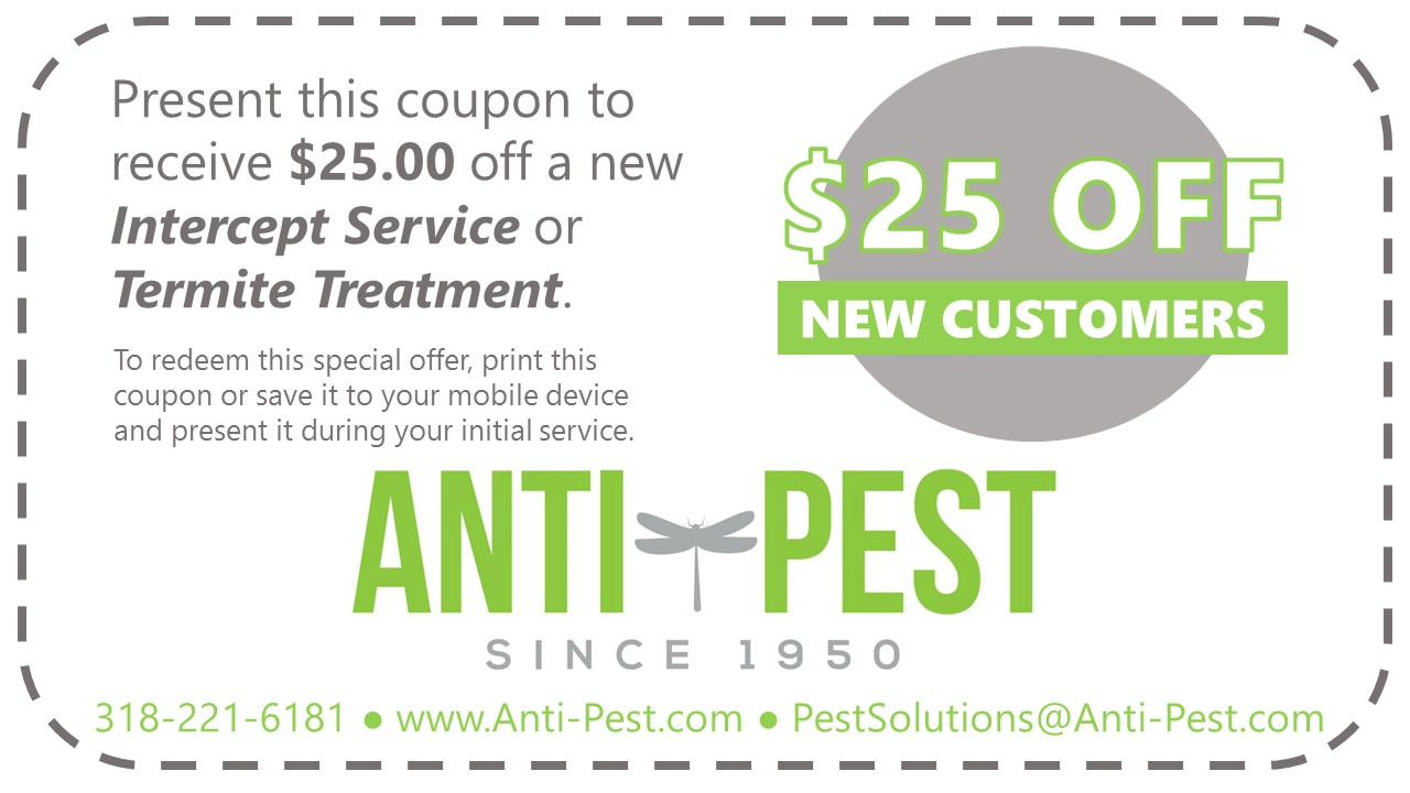 Anti-Pest Special Offer $25 Off